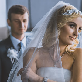 The new dreams by Vitaly Petrishin - Wedding Other ( love, sony, pair, wedding, bride, a57, groom, portrait )