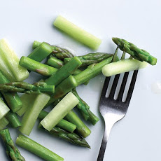Asparagus and Cucumber Vinaigrette