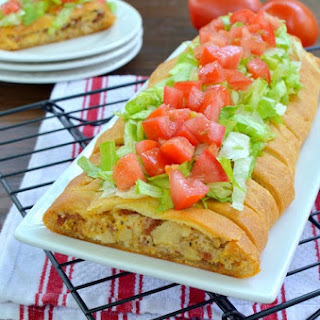 BLT Chicken Braid