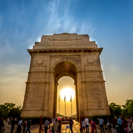 India Gate by Rahul Bakshi - Buildings & Architecture Statues & Monuments ( #indiagate #delhi #rahulsclicks )