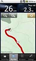 Screenshot of B.iCycle - GPS bike computer