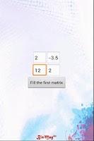 Screenshot of Matrix Product