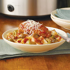 Swanson® Slow-Cooker Chicken Cacciatore