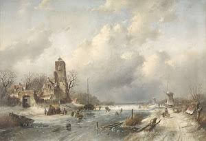 RIJKS: Charles Leickert: painting 1867