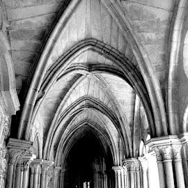 Arcos dos Claustros da Sé by Lia Ribeiro - Buildings & Architecture Statues & Monuments