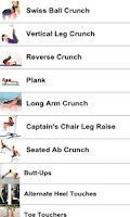 Screenshot of 21 Abs Workouts .FREE.