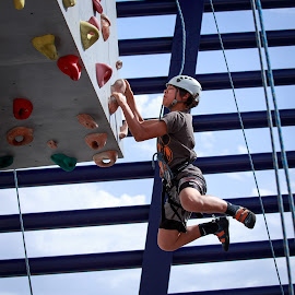 by Ben Liu - Sports & Fitness Climbing