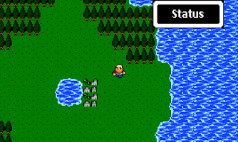 Screenshot of Dragon Fantasy 8-bit RPG