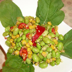 Asian-Style Edamame and Corn