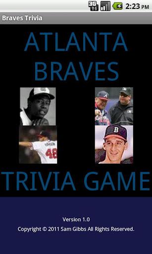 Braves Trivia Game