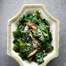 Sautéed Swiss Chard with Shiitake Mushrooms