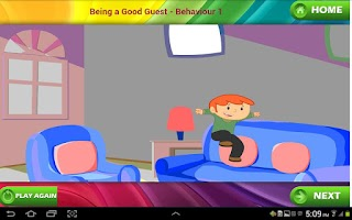 Screenshot of Good Manners for Kids