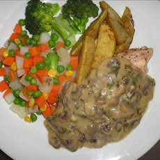 Lila's Favourite Chicken With Creamy Mushroom Sauce