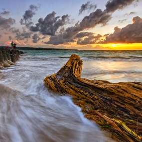 Stuck by Hendri Suhandi - Landscapes Beaches ( bali, tuban, sunset, kelan, beach )