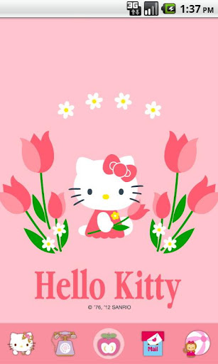 Hello Kitty Tulip Theme