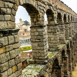 Aqueduct of Segovia by Min Elu - Buildings & Architecture Bridges & Suspended Structures