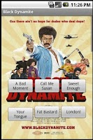 Screenshot of Black Dynamite Sound Board