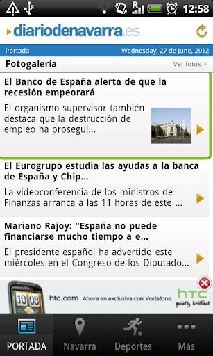 Diario de Navarra para Android