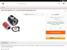 Screenshot of KTM SCHNELL VERSAND