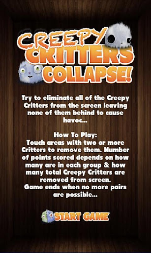 Creepy Critter Stack Collapse
