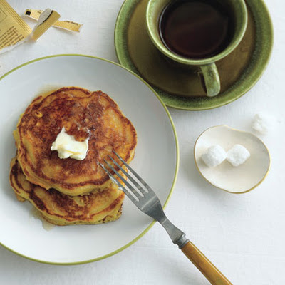 Fresh Corn Pancakes