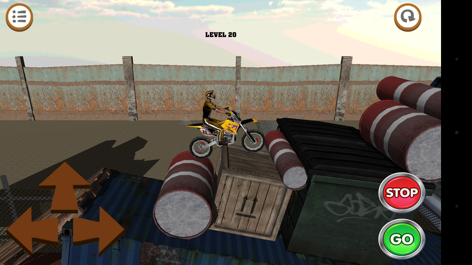 3D Motocross Bike: Industrial Screenshot 15