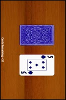 Screenshot of Deck of Cards