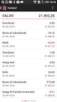 Screenshot of Spar Nord Mobilbank