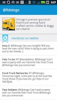 Screenshot of Food Trucks - Map and Twitter