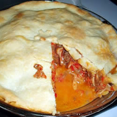 Beef and Pepper Pie