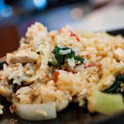 Thai Spicy Basil Chicken Fried Rice