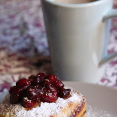 Orange Cranberry Pancakes