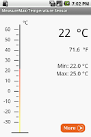 Screenshot of Temperature Sensor - Trial