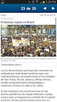 Screenshot of El Nuevo Diario