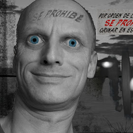 Se Prohibe by Joerg Schlagheck - Digital Art People ( law, gross, willing, eyes, exciting, lego., thrill, break, new, crazy, pee, weird, forbidden )