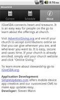 Screenshot of iGiveSDA