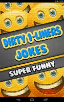 Screenshot of Dirty One Liner Jokes