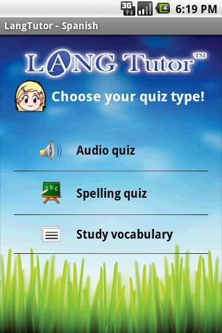 LangTutor - Spanish