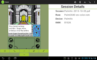 Screenshot of PHEM: Palm Hardware Emulator