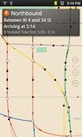 Screenshot of Transit Sharpener NYC
