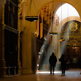 The Light by Franco Beccari - Buildings & Architecture Places of Worship ( cordoda, religion, mesquita, beam of light, church, mosque, cathedral, light, people, worship )