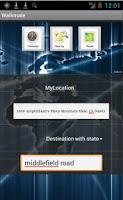Screenshot of Walkmate
