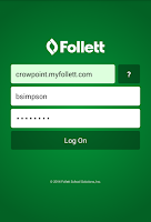 Screenshot of Follett Notifications