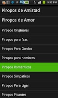 Screenshot of Piropos