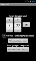 Screenshot of Sleep Cycles