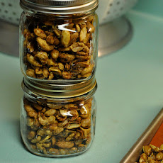 Rosemary Maple-Glazed Nuts