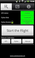 Screenshot of FlyNet