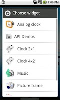 Screenshot of Domino Clock Widget