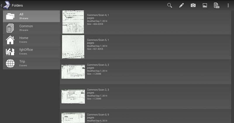Mobile Doc Scanner (MDScan) + OCR Screenshot 7