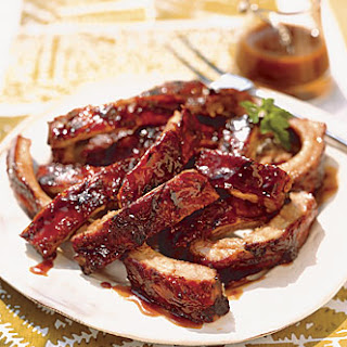 Brown Sugar and Bourbon Ribs